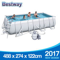 Bestway Above Ground Pool w/ Sand Filter 488x274cm