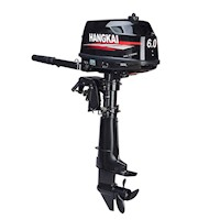 Hangkai Water Cooled Petrol Boat Outboard Motor 6HP