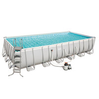 Bestway Above Ground Pool w/ Sand Filter 732x366cm
