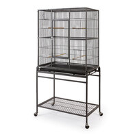 Wrought Iron Bird Cage w/ Removable Stand 1.6m