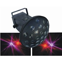 DMX 7-Channel LED Moonflower Disco Party Light 25W