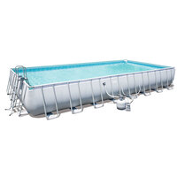 Bestway Large Above Ground Swimming Pool 9.5 x 4.8m