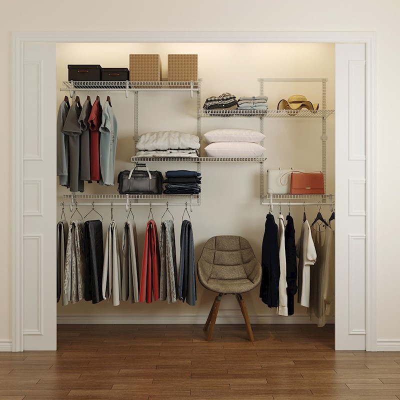 H M S Remaining. HomeG 5004 Smart Closet Organiser ...