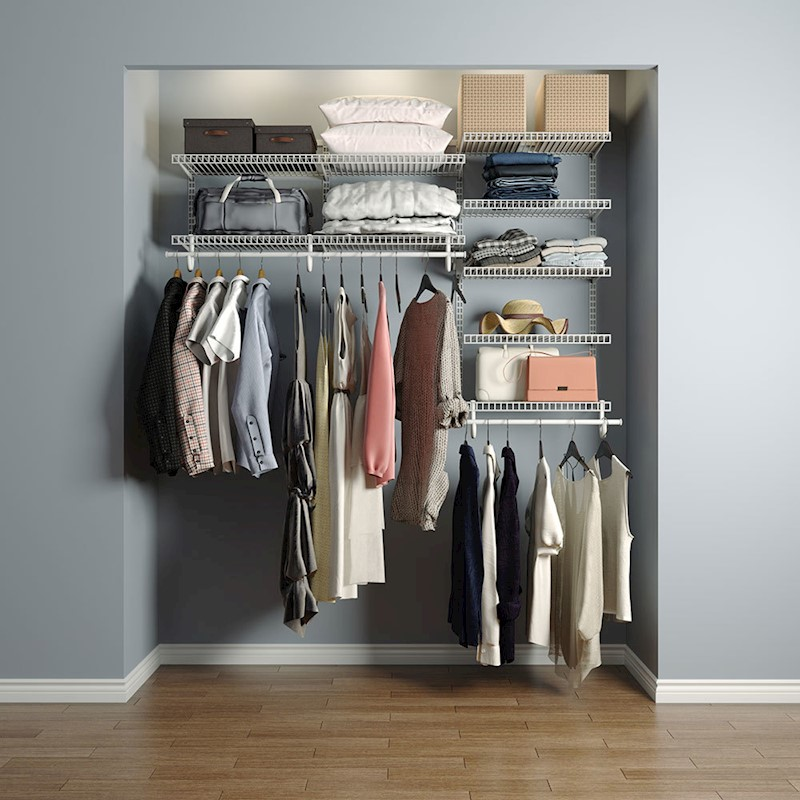 H M S Remaining. HomeG 5005 Smart Closet Organiser ...