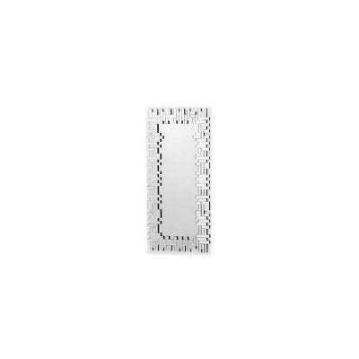 Zoe Rectangular Shard Decorative Wall Mirror 116cm