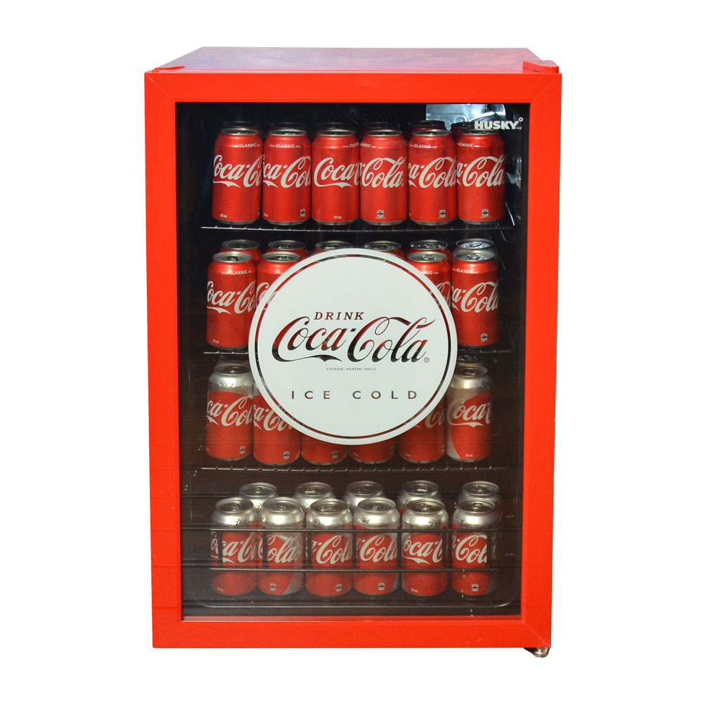 110l Coca Cola Glass Door Bar Fridge By Husky H M S Remaining