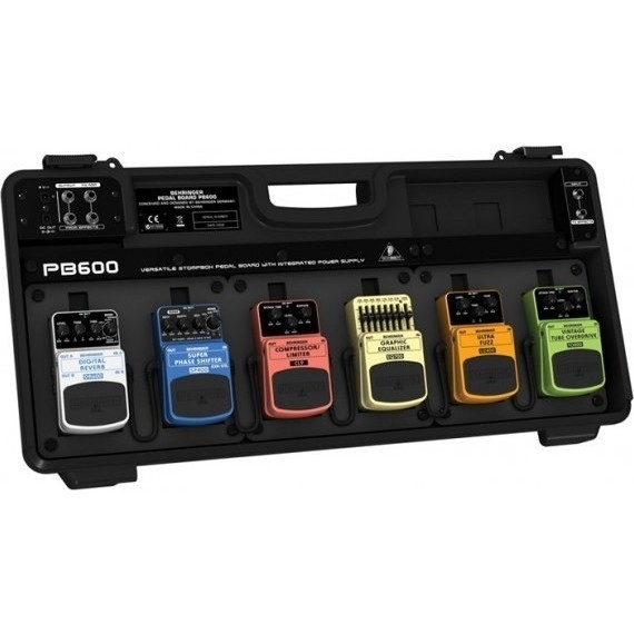 Behringer PB600 Guitar Pedal Board In Black