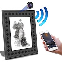 Photo Frame Wi-Fi Hidden Spy Camera with PIR Motion Detection