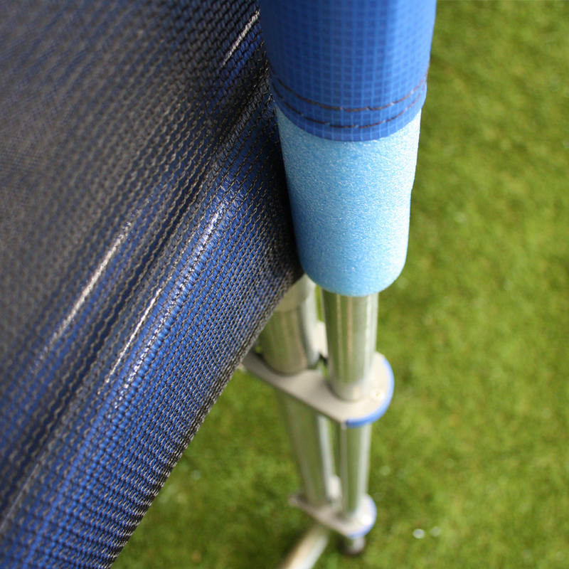 8 Pole 14ft Trampoline Safety Net In 3 Colours