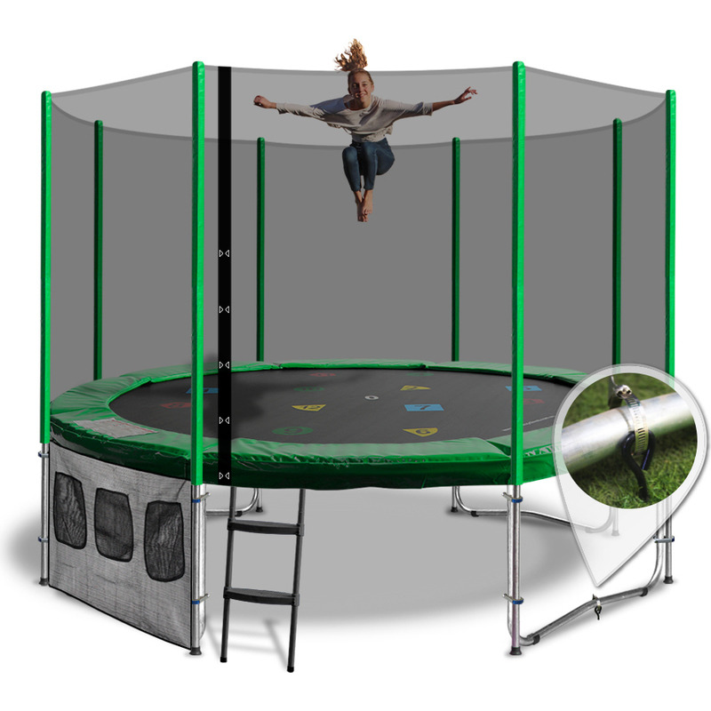 Round Summit 14ft Trampoline With Enclosure Buy 14ft
