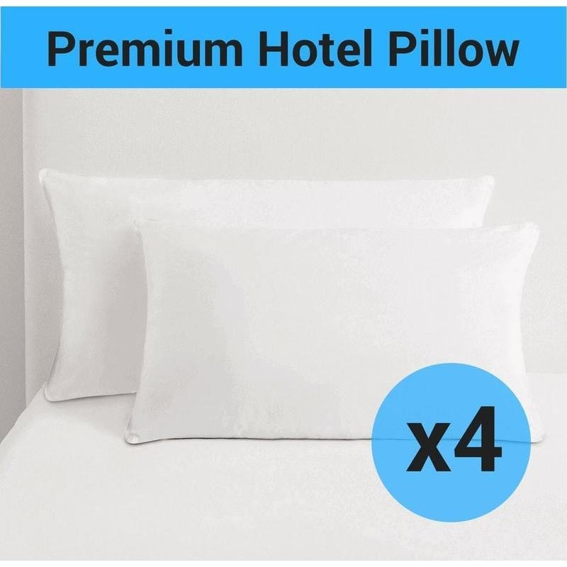 4x Standard Size Hotel Quality Microfibre Pillow Buy Pillows : PILLOW MICRO X401 from www.mydeal.com.au size 800 x 800 jpeg 100kB
