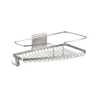 FineLine Large Shower Soap Basket Stainless Steel