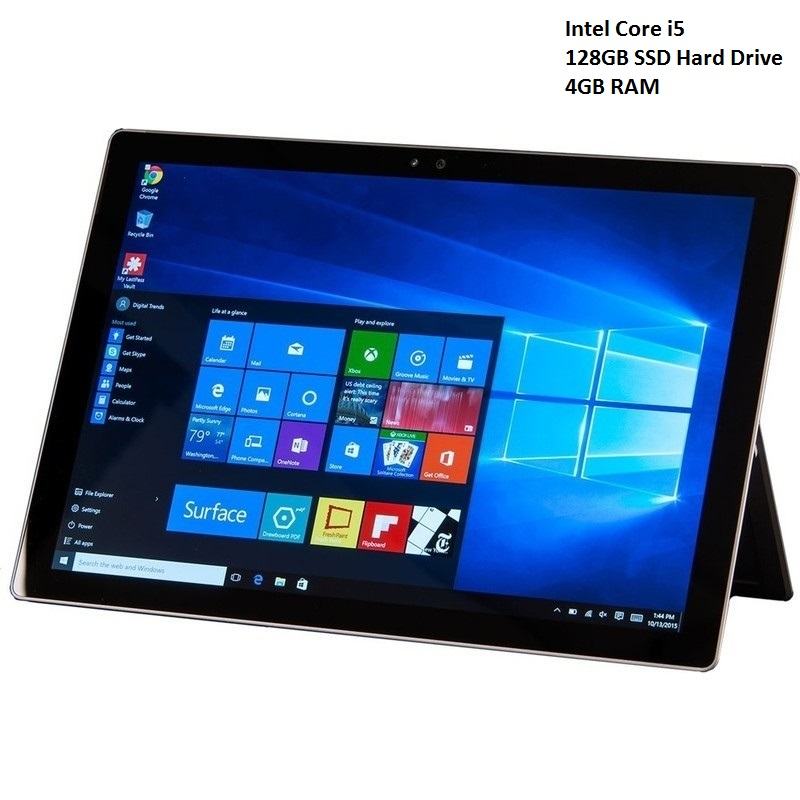 Microsoft Surface Pro 4 Tablet In Silver I5 128gb Buy