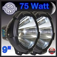 2x Xenon HID Driving Spot Lights 9 Inch 12V 75W