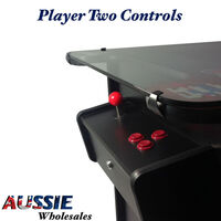 Tabletop Cocktail 412 Game Arcade Machine w/ Stools