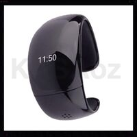 OLED Bluetooth Smart Bracelet Watch in Black