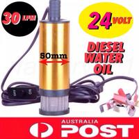 Solar Submersible Diesel Oil Pump with Filter 24V