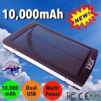 Portable Solar Charger Mobile Power Bank 10000mAh