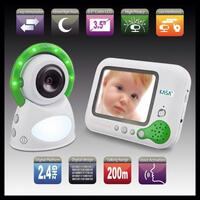Secure Digital LCD Colour Baby Monitor 3.5 Inch
