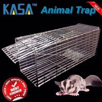 Humane Animal Possum Trap Catcher Folding Cage