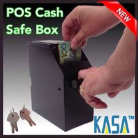 Series IV Point Of Sale Cash Safe Box with 4 Keys