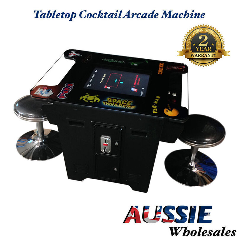 TABLETOP COCKTAIL ARCADE MACHINE SAMSUNG DISPLAY WITH 412 ...