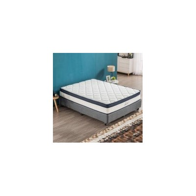 Queen Latex Euro Top Pocket Spring Foam Mattress