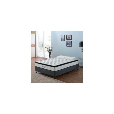 King Single Pillow Top Latex Pocket Spring Mattress