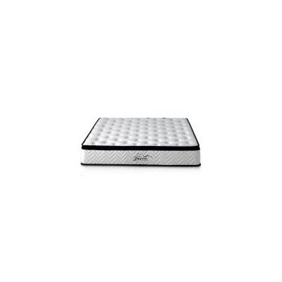 King Pillow Top Latex Pocket Spring Mattress 25cm