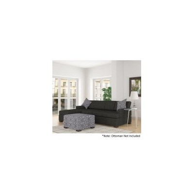 2pc Bahama Sofa Lounge with Left Chaise - Slate