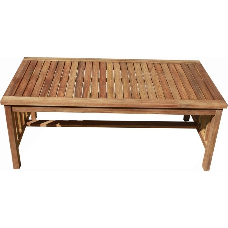 Wooden Coffee Table.European Outdoor Wooden Coffee Table 120x60cm