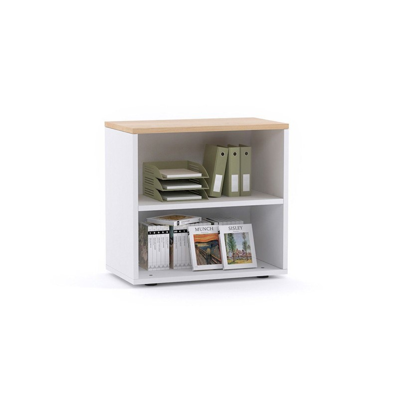Uniform Small Open Bookcase 800l