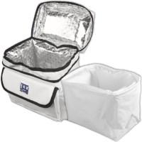 Techni Ice Cooler Bag w/ Thermal Booster - White 5L