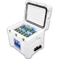 Techni Ice Signature Series Ice Box in White 35L