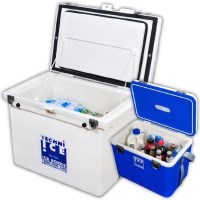 Techni Ice Classic Ice Box & Compact Cooler Box 80L