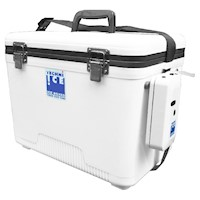 Techni Ice Bait Box with Aerator Pump in Blue 18L