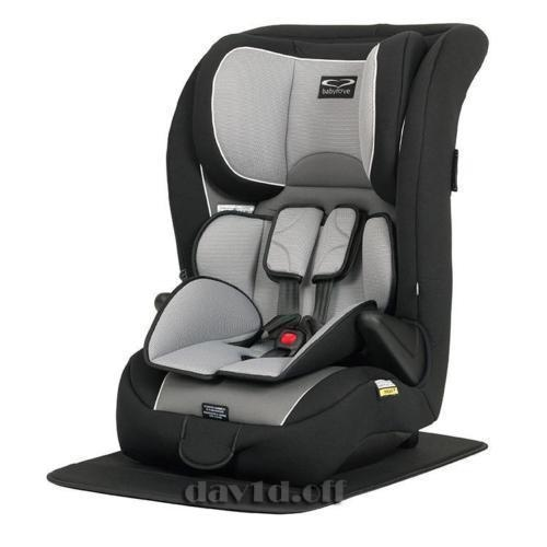 BabyLove Adjustable Child Booster Car Seat - Silver