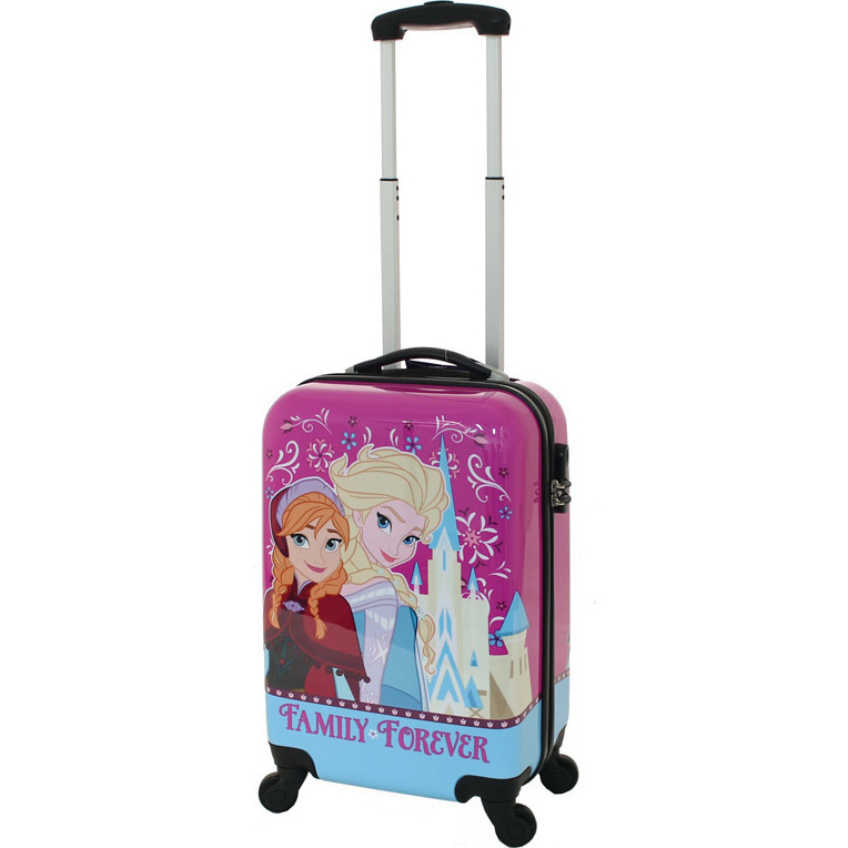 disney frozen hard 4 wheel kids suitcase pink 52cm buy kid 39 s suitcases 9325979042976. Black Bedroom Furniture Sets. Home Design Ideas