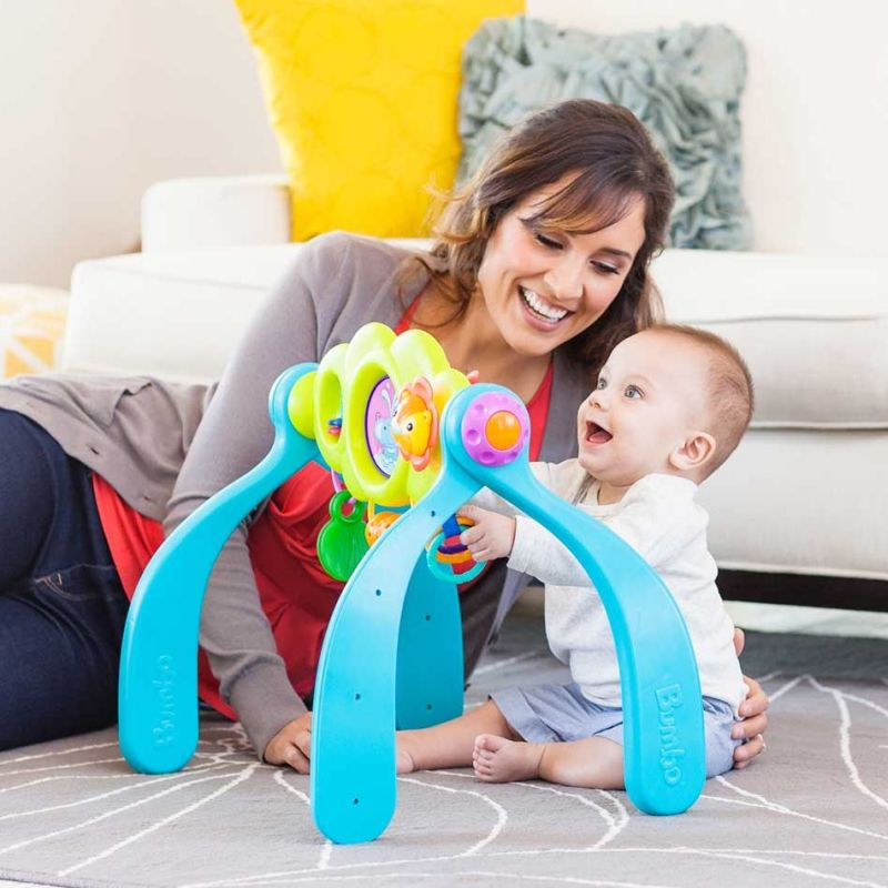 Bumbo baby activity play centre w 9 sensory toys buy for Baby play centre