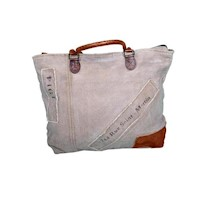 Saint Martin Hand Made vintage Zip Up Shoulder Bag