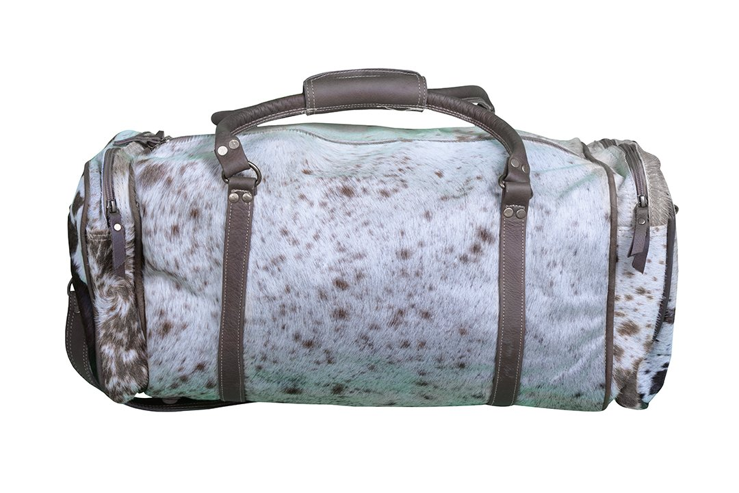 a6320d3cbac9 h m s Remaining. COWHIDE WEEKEND BAG