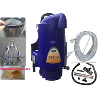 Backpack Vacuum Cleaner w/ 10 Paper Bags in Blue 5L