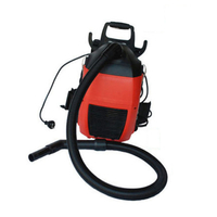 Commercial Backpack Vacuum Cleaner in Red 1000W 3L