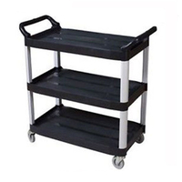 Small 3 Tier Catering Utility Kitchen Trolley 105kg