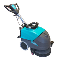 Cable Operated Automatic Floor Scrubber Machine 22L