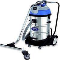 Stainless Steel Wet & Dry Vacuum Cleaner 2000W 60L