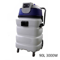 Commercial Wet and Dry Vacuum Cleaner 3000W 90L