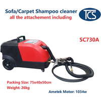 Wet and Dry Shampoo Sofa Carpet Cleaner 1034W 15L