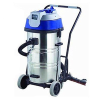 Stainless Steel Wet & Dry Vacuum Cleaner 3000W 80L