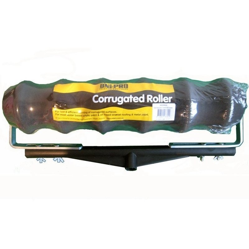 Corrugated Roller Cover Amp Frame For Painting 460mm Buy